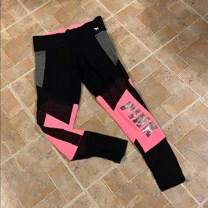 Victoria's Secret Pink SEQUIN legging size medium
